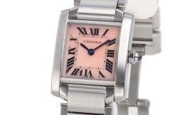カルティエコピー時計 タンクフランセーズ SM クォーツムーブメント W51028Q3