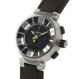 ルイ・ヴィトンコピー時計 タンブール インブラック クォーツムーブメント搭載 Q118F2