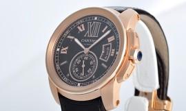 カルティエ時計コピー Cal.1904-PS MC自動巻きムーブメント搭載 28800振動/時 カリブル ドゥ W7100007