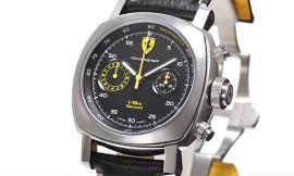パネライ時計コピー フェラーリ ETA7750自動巻き搭載 28800振動/時 スクデリア ラトラパンテ 1/8セコンド FER00025