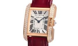 カルティエコピー時計 タンクアングレーズ SM クォーツムーブメント WT100013