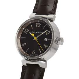 ルイ・ヴィトンコピー時計 タンブール クォーツムーブメント搭載 デイト表示 Q1111