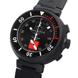 ルイ・ヴィトンコピー時計 タンブール ダイバークロノ 自動巻きムーブメント搭載 デイト表示 Q102F