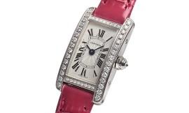 カルティエコピー時計 ミニタンクアメリカン クォーツムーブメント WB710015