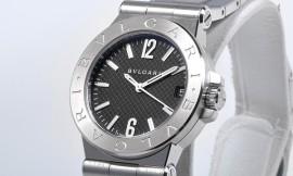 ブルガリコピー時計 ディアゴノ クォーツムーブメント DG29BSSD