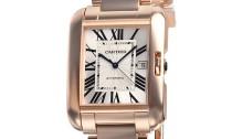 カルティエコピー時計 タンクアングレーズ LM 自動巻きムーブメント W5310002