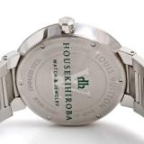ルイ・ヴィトンコピー時計 タンブール ダミエ クォーツムーブメント搭載 デイト表示 Q1D001