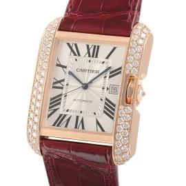 カルティエコピー時計 タンクアングレーズ XL 自動巻きムーブメント WT100021