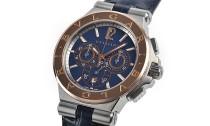 ブルガリコピー時計 ディアゴノ カリブロ デイト表示 自動巻きムーブメント DG42C3SPGLDCH