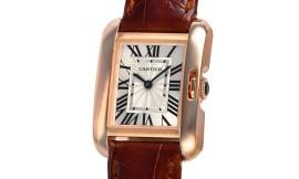 カルティエコピー時計 タンクアングレーズ SM クォーツムーブメント W5310027