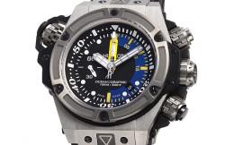 ウブロ時計コピー キングパワー オーシャノグラフィック1000チタニウム Cal.HUB4160自動巻きムーブメント搭載 28800振動 732.NX.1127.RX