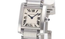 カルティエコピー時計 タンクフランセーズ SM クォーツムーブメント W51008Q3