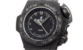 ウブロ時計コピー オーシャノグラフィック 4000 カーボン Cal.HUB1401自動巻きムーブメント搭載 28800振動 731.QX.1140.RX