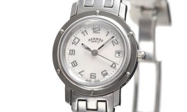 エルメススーパーコピー時計 クリッパー ナクレ クォーツムーブメント搭載 CL4.210.212/3821