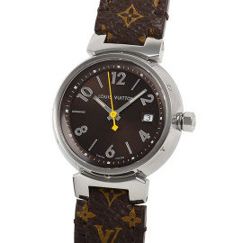 ルイ・ヴィトンコピー時計 タンブール クォーツムーブメント搭載 デイト表示 Q1211A
