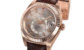 ロレックス時計コピー スカイドゥエラーCal.9001自動巻きムーブメント搭載 326135