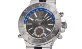 ブルガリコピー時計 ディアゴノ GMT 自動巻きムーブメント DG40C14SLDGMT