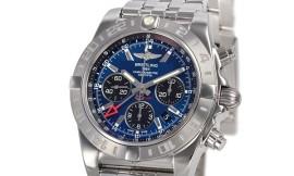 ブライトリングコピー時計 クロノマット44 GMT 自動巻きクロノメーター搭載 A042C52PA