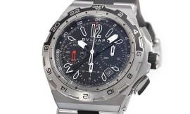 ブルガリコピー時計 ディアゴノ X-PRO 自動巻きムーブメント DP45BSTVDCH/ GMT