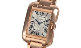 カルティエコピー時計 タンクアングレーズ MM 自動巻きムーブメント W5310041