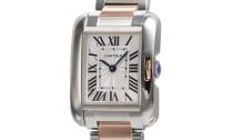 カルティエコピー時計 タンクアングレーズ SM クォーツムーブメント W5310019