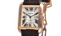 カルティエコピー時計 タンクアングレーズ LM 自動巻きムーブメント W5310004