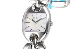 グッチ時計コピー マリナチェーン ホワイト文字盤 クォーツムーブメント搭載 YA121520