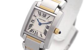 カルティエコピー時計 タンクフランセーズ SM クォーツムーブメント W51007Q4