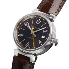 ルイ・ヴィトンコピー時計 タンブールGMT 自動巻きムーブメント搭載 デイト表示 Q11310