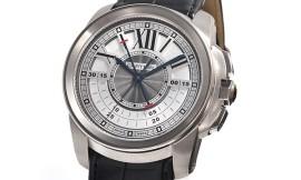 カルティエ時計コピー カリブル ドゥ セントラルクロノグラフ 45mm Cal.9907MC自動巻きムーブメント搭載 28800振動/時 W7100005