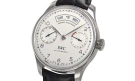 IWC ポルトギーゼ アニュアルカレンダー Cal.52850手巻きムーブメント 28800振動/時 IW503501