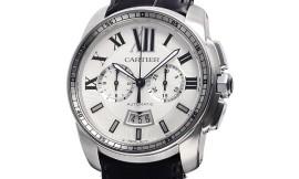 カルティエ時計コピー カリブル ドゥ クロノグラフ 42mm Cal.1904-PS MC自動巻きムーブメント搭載 28800振動/時 W7100046