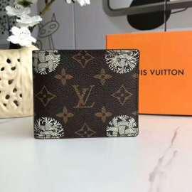 ルイヴィトン財布コピー LOUIS VUITTON 2020新作 二つ折り財布 M60895-32