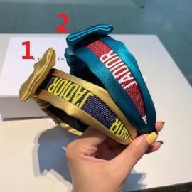 ディオールヘアバンドコピー 2020新品注目度NO.1 Dior レディース ヘアバンド 2色