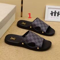 ルイヴィトン靴コピー 定番人気2020春夏新作 Louis Vuitton 男女兼用 サンダル-スリッパ 2色