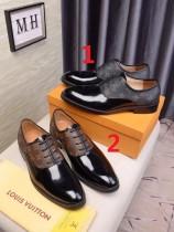 ルイヴィトン靴コピー 大人気2020春夏新作 Louis Vuitton メンズ 革靴 2色