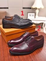 ルイヴィトン靴コピー 定番人気2020春夏新作 Louis Vuitton メンズ 革靴 2色