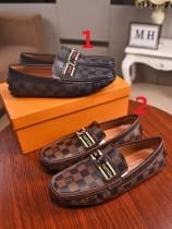 ルイヴィトン靴コピー 大人気2020春夏新作 メンズ カジュアルシューズ 2色