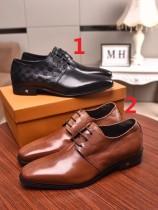 ルイヴィトン靴コピー 2020春夏新作注目度NO.1 Louis Vuitton メンズ 革靴 2色