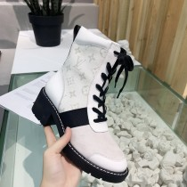 ルイヴィトン靴コピー 定番人気2020新品 Louis Vuitton レディース ブーツ