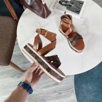 ルイヴィトン靴コピー 定番人気2020新品 Louis Vuitton レディースサンダル-スリッパ