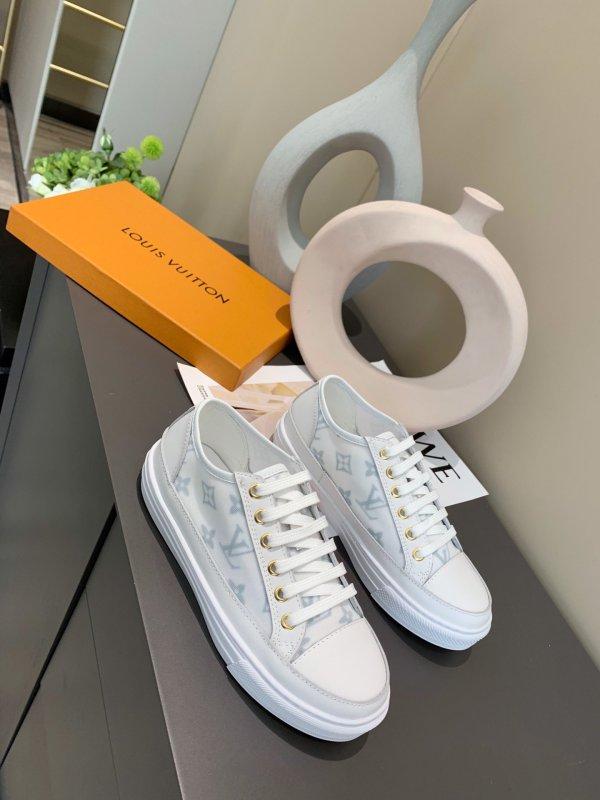 ルイヴィトン靴コピー 2020新品注目度NO.1 Louis Vuitton レディース カジュアルシューズ