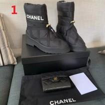 シャネル靴コピー 大人気2020新品 CHANEL レディース ブーツ3色