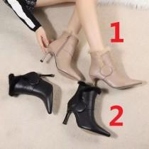 シャネル靴コピー 大人気2020新品 CHANEL レディース ブーツ2色