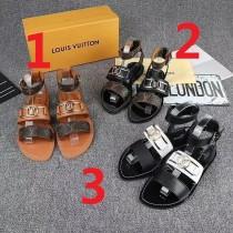ルイヴィトン靴コピー 大人気2020新品 Louis Vuitton レディースサンダル-スリッパ 3色