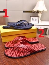 フェンディ靴コピー 大人気2020新品 FENDI メンズ サンダル-スリッパ 2色