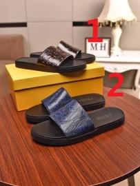 フェンディ靴コピー 2020新品注目度NO.1 FENDI メンズ サンダル-スリッパ 2色