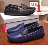 ヴェルサーチェ靴コピー 2020新品注目度NO.1 VERSACE メンズ パンプス 2色