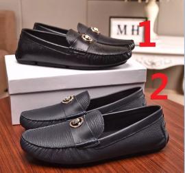 ヴェルサーチェ靴コピー定番人気2020新品 VERSACE メンズ パンプス 2色