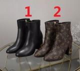 ルイヴィトン靴コピー 2020新品注目度NO.1 Louis Vuitton レディース ブーツ 2色